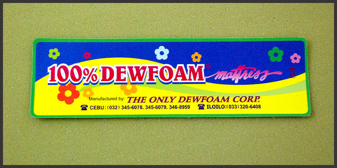 The Only Dewfoam Corporation